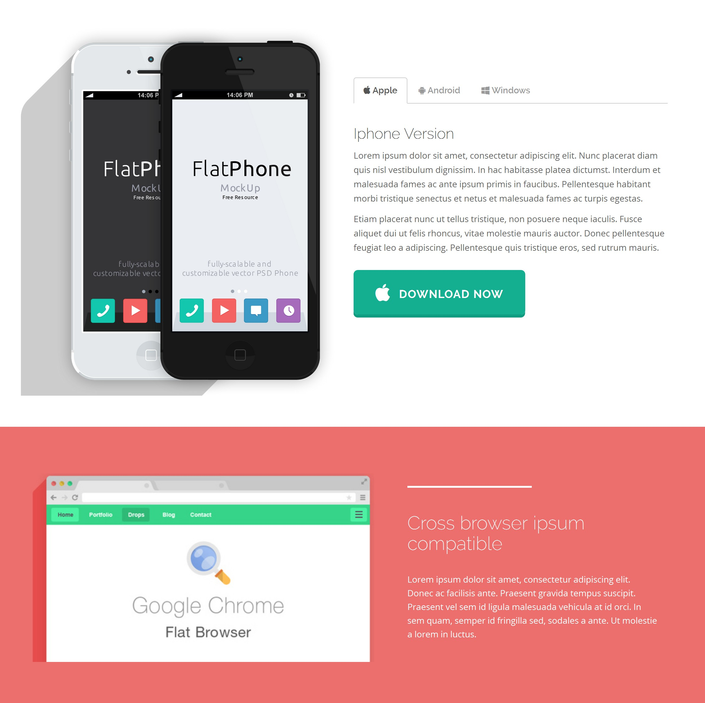 Mobile Bootstrap Store Theme