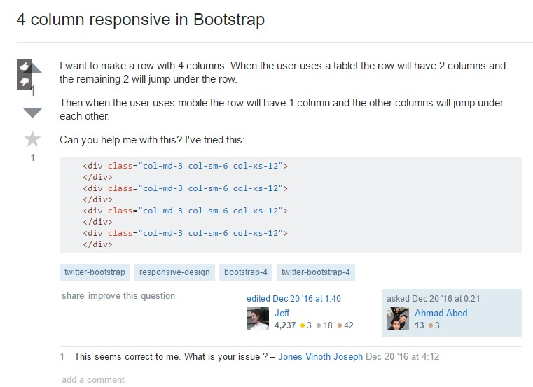 Responsive columns in Bootstrap